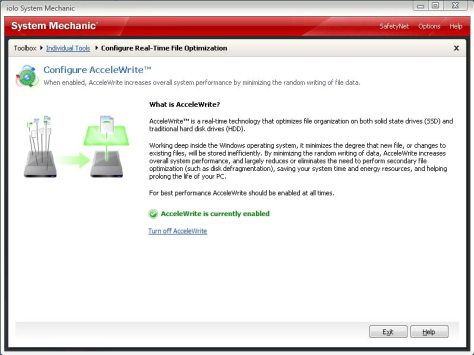 SM11 screenshot AcceleWrite