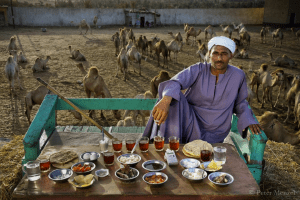 Around the World in 80 Diets: Portraits of What People Across the Globe Eat in an Average Day