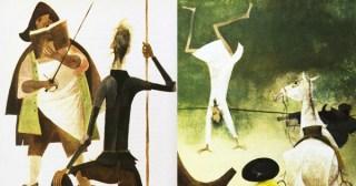 Stunning Vintage Illustrations of Don Quixote by Spanish Graphic Design Pioneer Roc Riera Rojas
