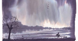 The River: Exploring the Inner Seasonality of Being Human in Gorgeous Watercolors by Italian Artist Alessandro Sanna