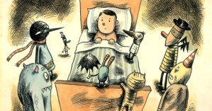 What There Is Before There Is Anything There: Celebrated Cartoonist Liniers Confronts Childhood Nightmares
