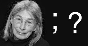 """Mary Oliver on the Magic of Punctuation and a Reading of Her Soul-Stretching Poem """"Seven White Butterflies"""""""