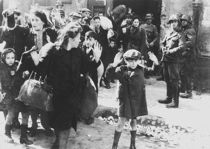 The last Warsaw Ghetto deportation, 1943