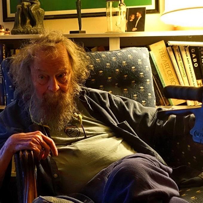 Donald Hall, 2015 (Photograph by Michael Maren courtesy of Dani Shapiro)