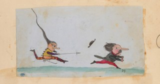 The Charming Doodles Charles Darwin's Children Left All Over the Manuscript of 'On the Origin of Species'