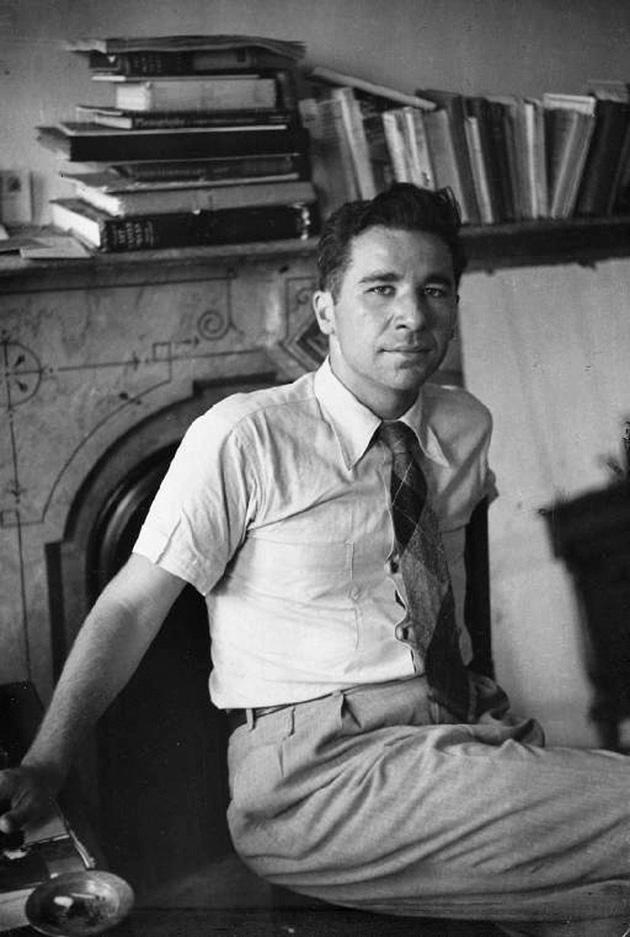 Alfred Kazin, 1946 (Photograph: Henri Cartier-Bresson/Magnum)