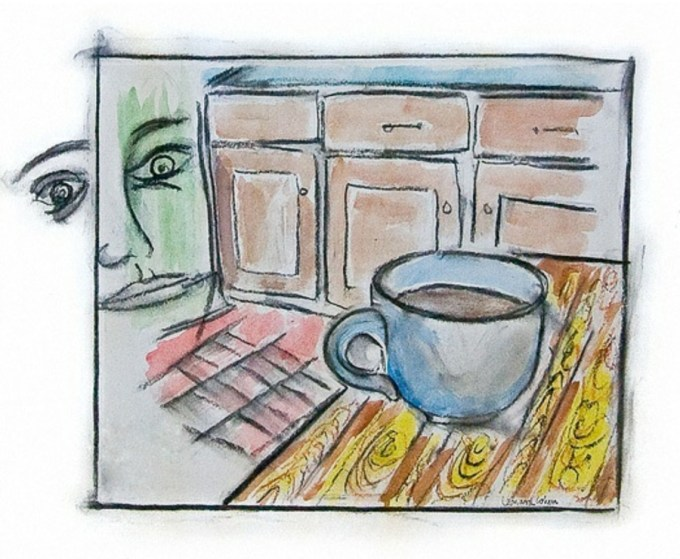 Art by Leonard Cohen from Fifteen Poems