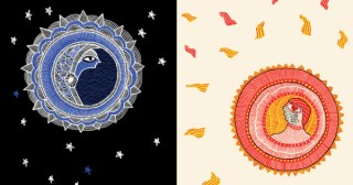 Sun and Moon: Stunning Illustrations of Celestial Myths by Ten of India's Greatest Indigenous Artists