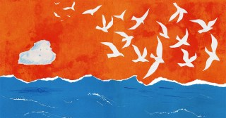 Blue Floats Away: A Tender Illustrated Fable About Our Capacity for Change, Told Through the Story of Water
