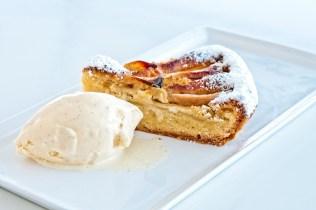 Pear & frangipane shortcrust tart