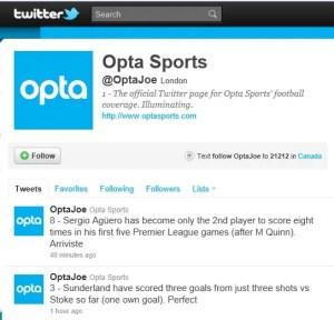 Twitter @OptaJoe