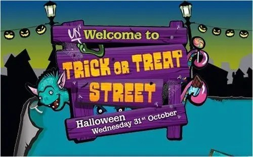 Trick or Treat Street - Asda 2012