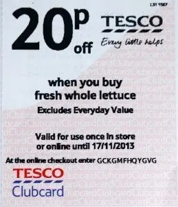 Tesco promotion