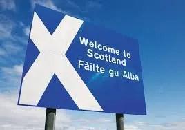 Scottish Saltire - brand logo