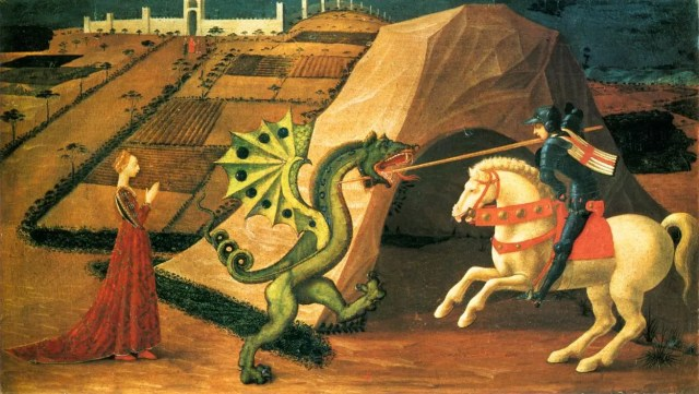 Brand storytelling   Saint George and the Dragon by Paolo Uccello.
