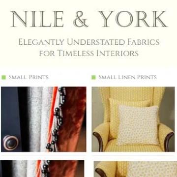 Interior Design Services Marketing | Nile and York