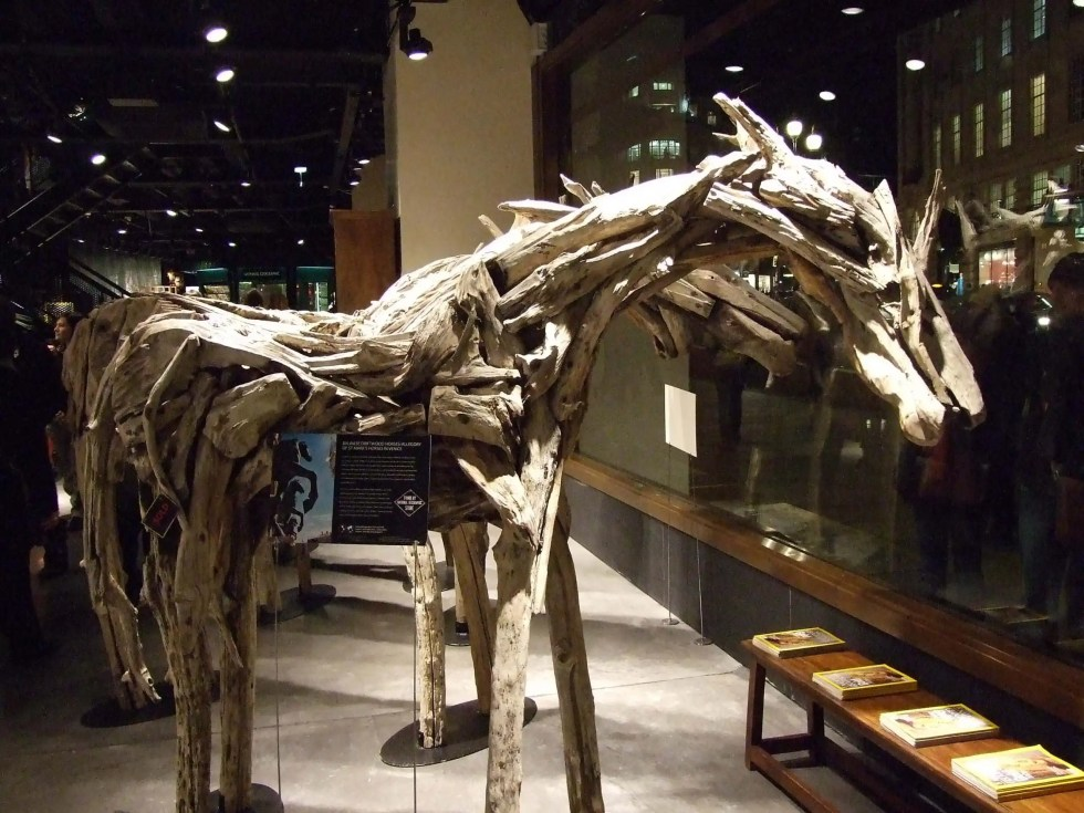 National Geographic Store Driftwood Horses