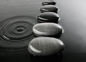 Photo of stepping stone marketing process