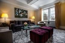 Living Room Luxury Hotel Suites
