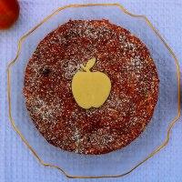 Apple & Marzipan Cake