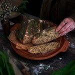 Wild Garlic & Cheese Pasties