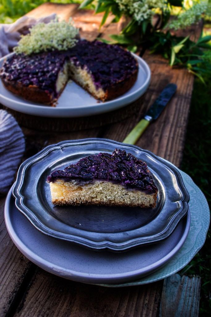 Blueberry & Elderflower Cake