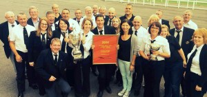 The Marple Band National Champions 2014