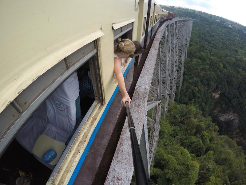Scenic Train Ride to Hsipaw
