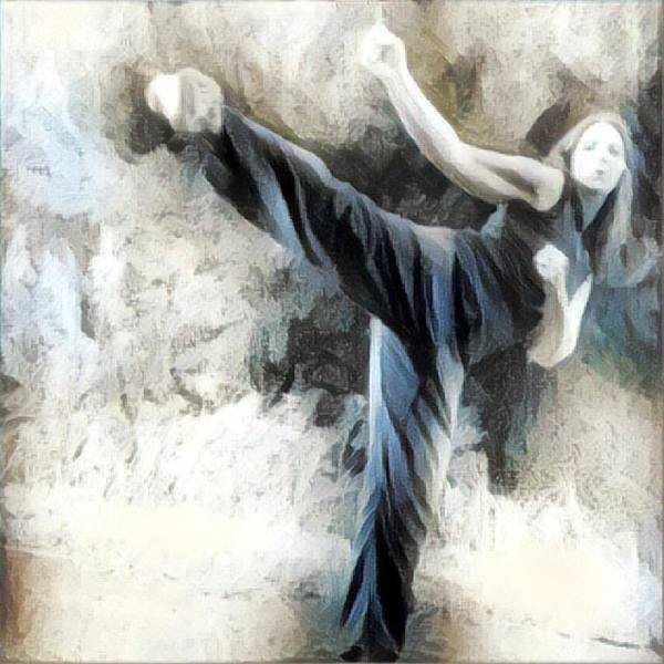 Martial Arts Woman - Positivity Life Lessons And