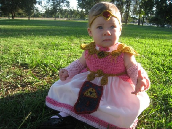 Baby Costume Jabba Leia Hut