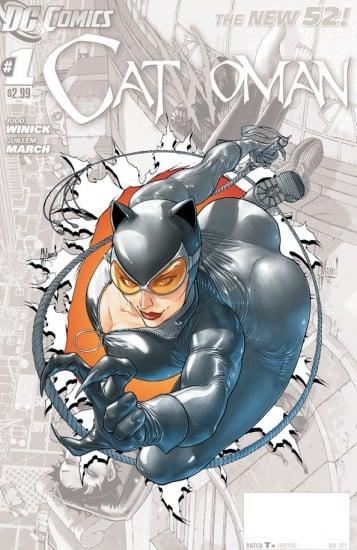 Catwoman zero cover