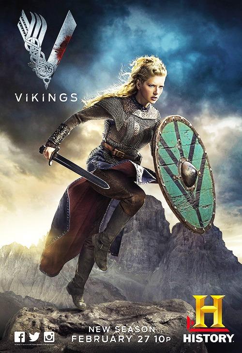 Things We Saw Today Lagerthas Vikings Season 2 Poster
