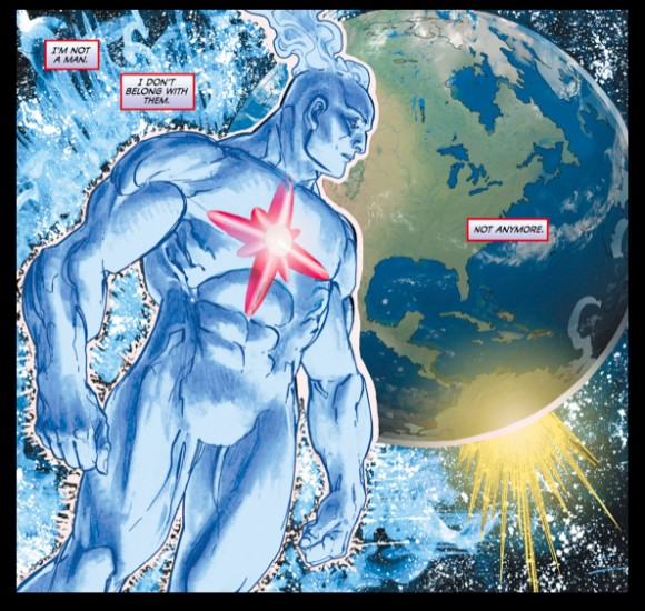 Image result for captain atom kills cancer