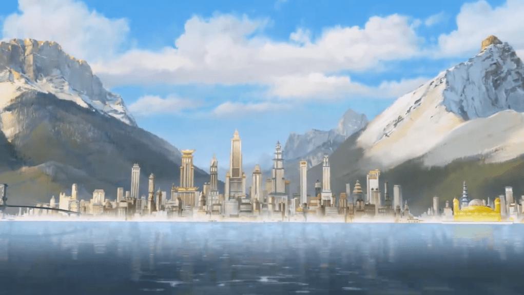 Risultati immagini per avatar republic city
