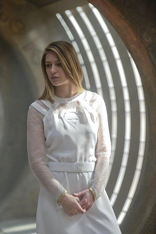 Supergirl Melissa Benoist Underwear