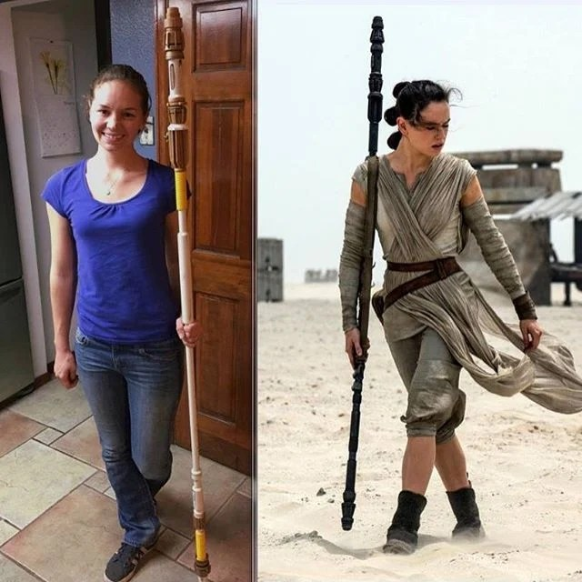 How to Make Reys Staff From Force Awakens  The Mary Sue