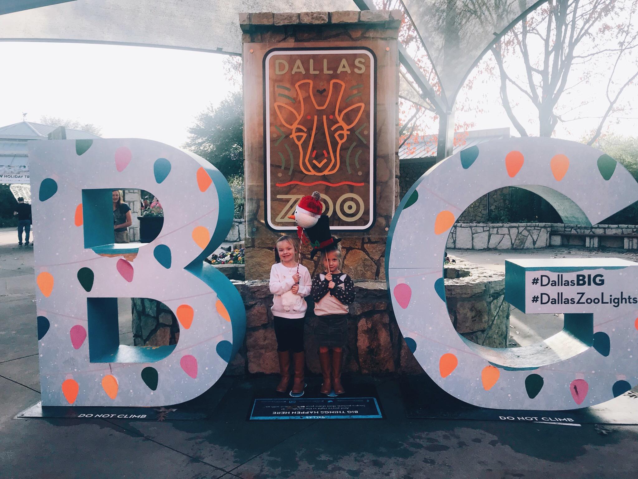 Dallas Zoo Lights 2017