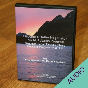 Become a Better Negotiator audio set