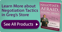 Negotiation tactic products