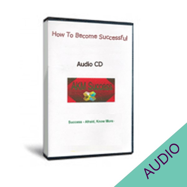 How to Become Successful audio CD