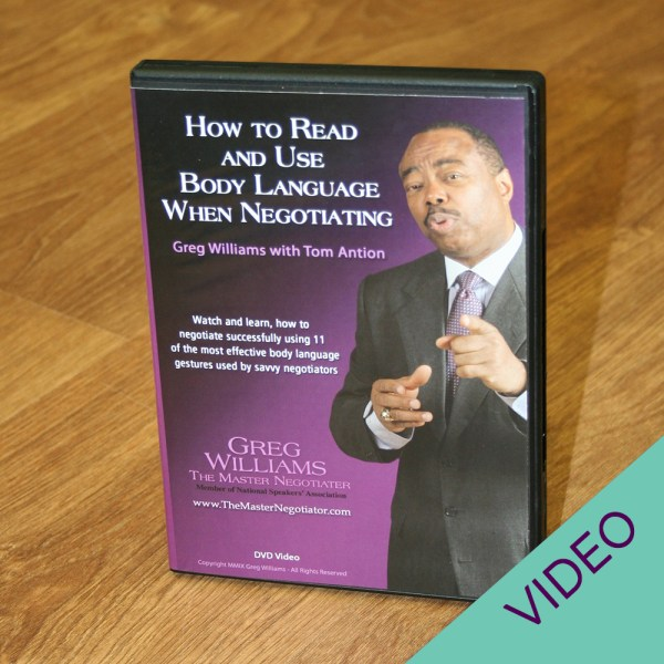 How to Read and Use Body Language When Negotiating DVD