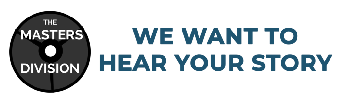 """We want to hear your story"" banner"