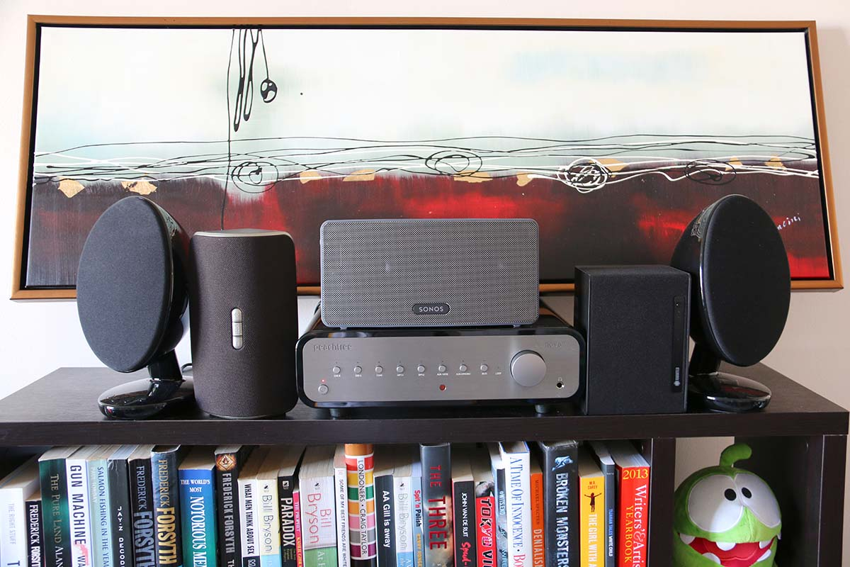 hight resolution of wired vs wireless speakers