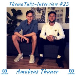 amadeus thüner beim sneaker interview bei tobias wilinski thematakt