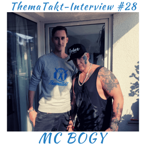Rapper MC Bogy im ThemaTakt-Podcast