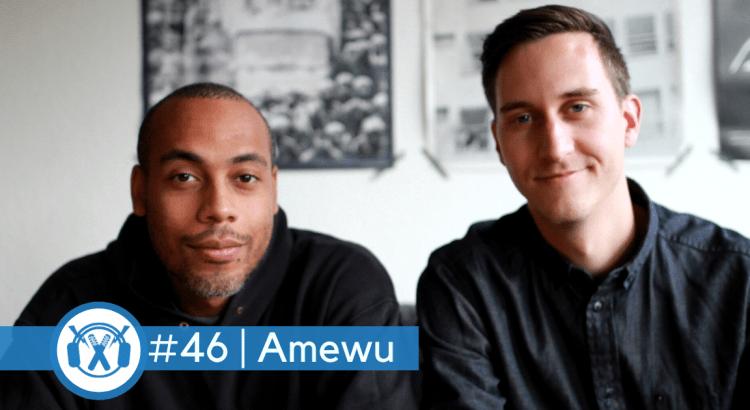 Rapper Amewu zu Gast beim ThemaTakt-Podcast über Musik-Business.