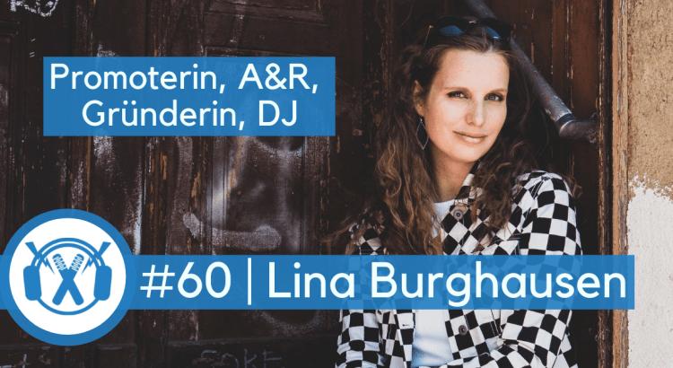 Lina Burghausen (Mona Lina, 365 Female MCs, 365xx Records) Musikpromoterin, A&R, Autorin im ThemaTakt-Interview