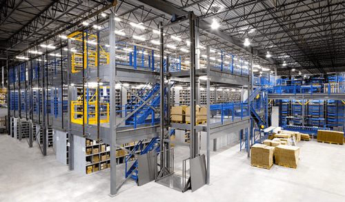 Looking For Extra Warehouse Space? Consider A Cogan Mezzanine