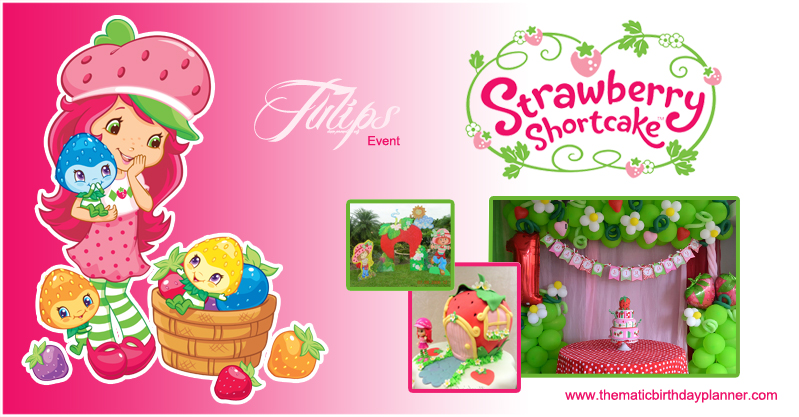 Strawberry Shortcake Birthday Party Planner in Pakistan