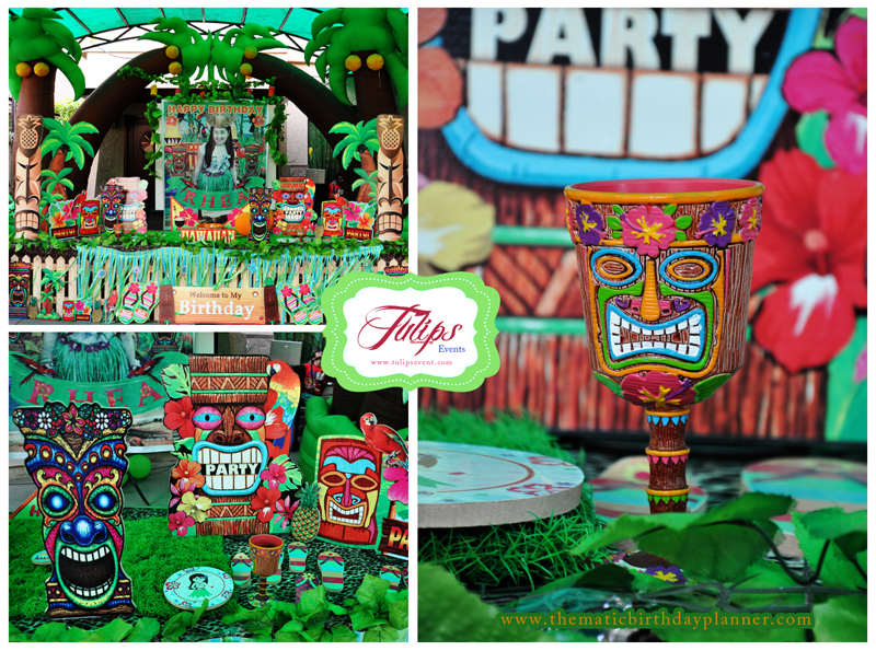 The Great Luau Hawaiian Themed Party Planner in Pakistan.